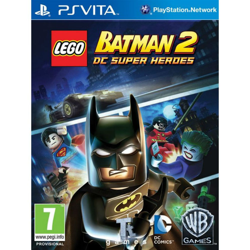 Игра для PS Vita LEGO Batman 2. DC Super Heroes title=