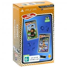 Игра для PSP EyePet + Invizimals (2 игры + камера USB)