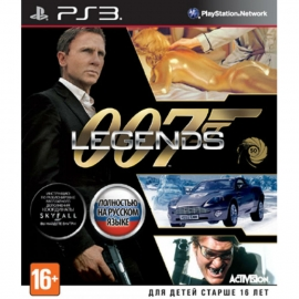 Игра для PS3 007 Legends