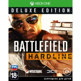 Игра для Xbox One Battlefield: Hardline. Deluxe Edition