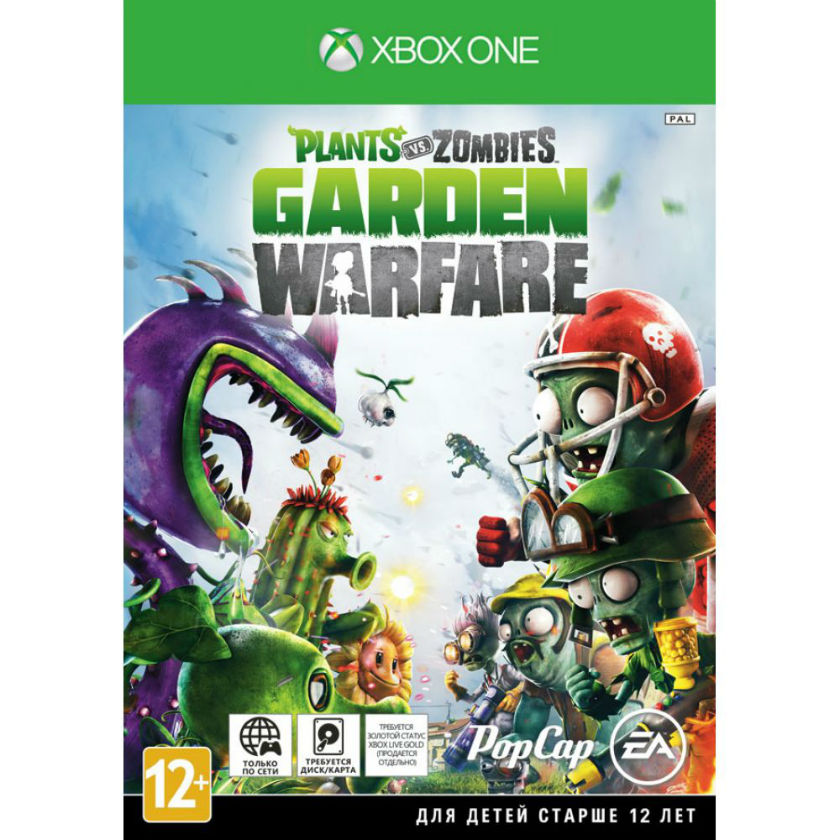 Игра для Xbox One Plants vs. Zombies Garden Warfare title=
