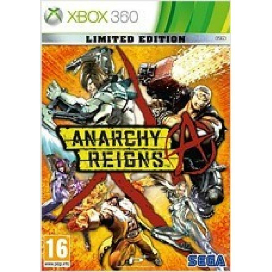 Игра для Xbox 360 Anarchy Reigns. Limited Edition title=