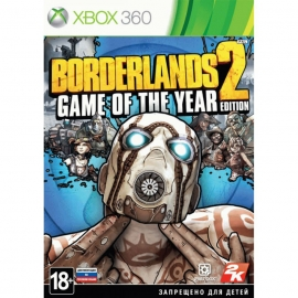Игра для Xbox 360 Borderlands 2 (Game of the Year Edition)