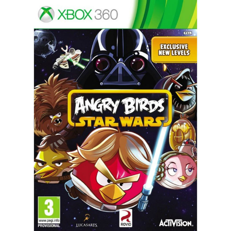 Игра для Xbox 360 Angry Birds Star Wars title=