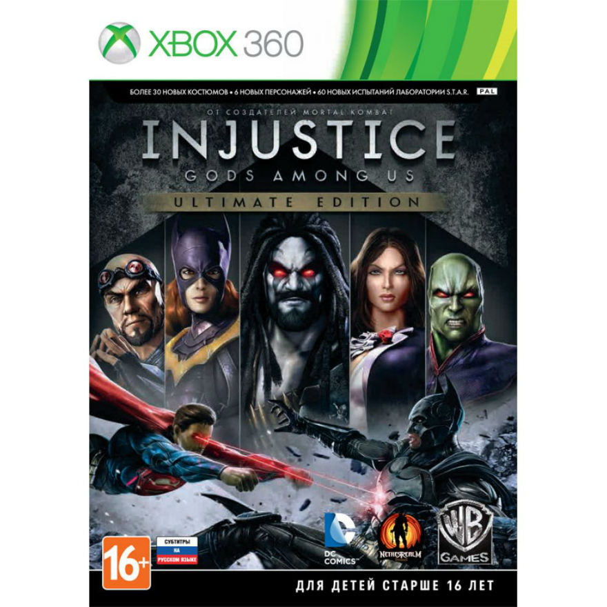 Игра для Xbox 360 Injustice. Gods Among Us (Ultimate Edition) title=