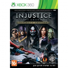 Игра для Xbox 360 Injustice. Gods Among Us (Ultimate Edition)