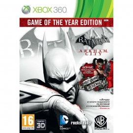 Игра для Xbox 360 Batman. Arkham City (Game of the Year Edition)