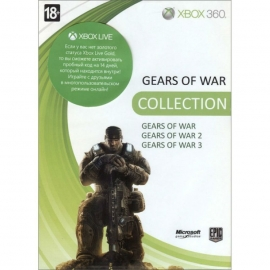 Игра для Xbox 360 Gears of War + Gears of War 2 + Gears of War 3