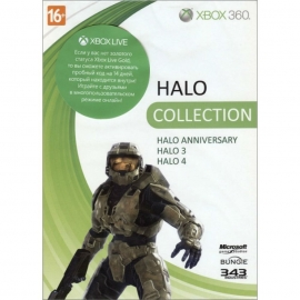 Игра для Xbox 360 Halo 4 + Halo 3 + Halo Combat Evolved. Anniversary