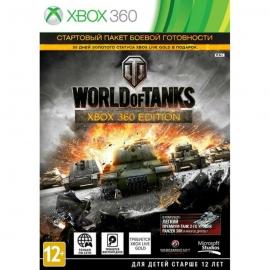 Игра для Xbox 360 World of Tanks