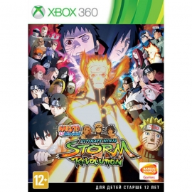 Игра для Xbox 360 Naruto Shippuden Ultimate Ninja Storm Revolution