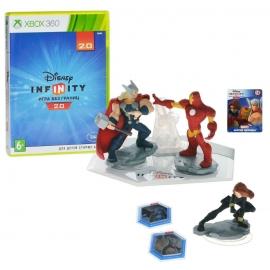 Игра для Xbox 360 Disney Infinity 2.0 (Marvel). Стартовый набор