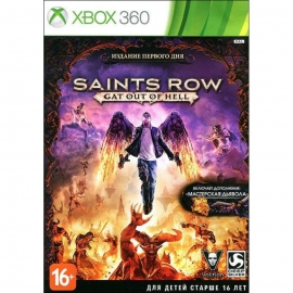 Игра для Xbox 360 Saints Row Gat Out Of Hell