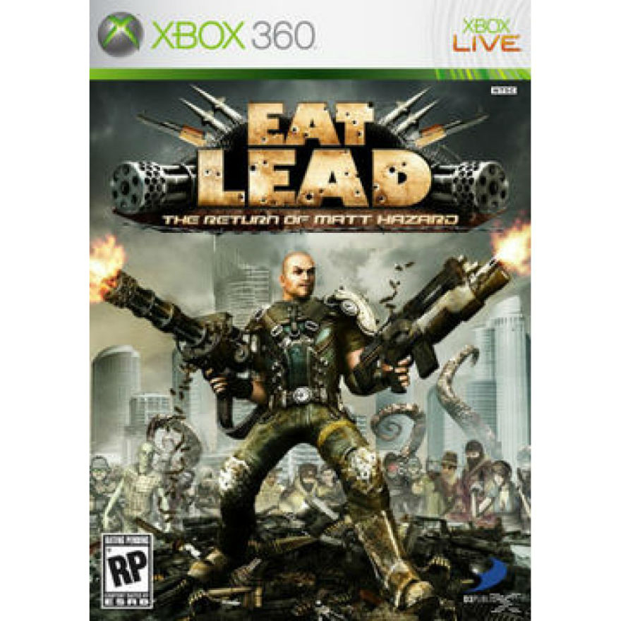 Игра для Xbox 360 Eat Lead: The Return of Matt Hazard title=