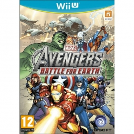 Игра для Nintendo WII U Marvel The Avengers: Battle for Earth
