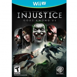 Игра для Nintendo WII U Injustice: Gods Among Us
