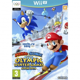 Игра для Nintendo WII U Mario & Sonic at the Sochi 2014 Olympic Winter Games