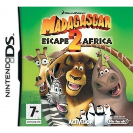 Игра для Nintendo DS Madagascar 2: Escape to Africa