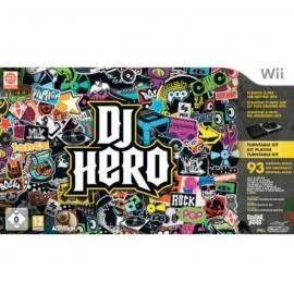 Игра для Nintendo WII DJ Hero Turntable Bundle