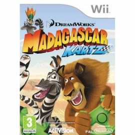 Игра для Nintendo WII Madagascar Kartz