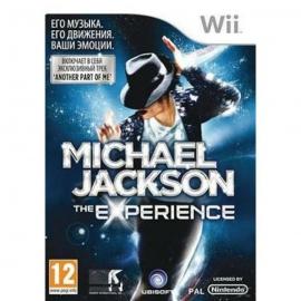 Игра для Nintendo WII Michael Jackson: The Experience