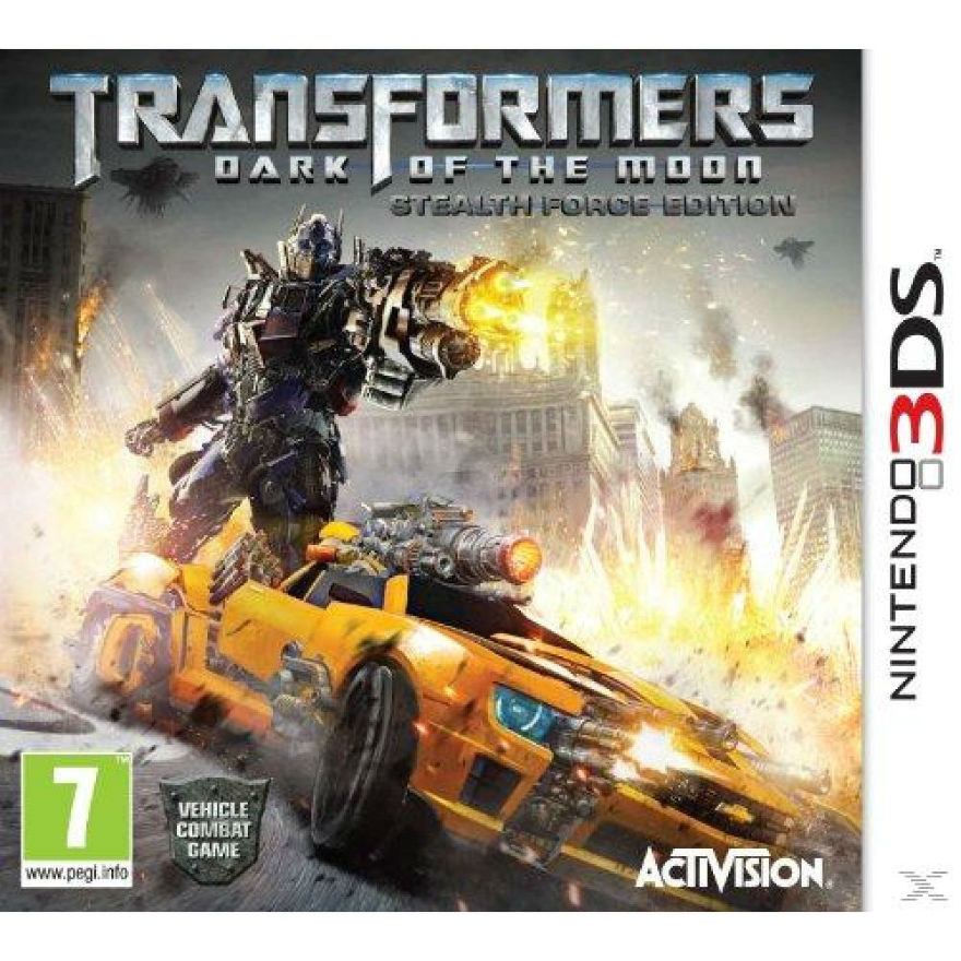 Игра для Nintendo 3DS Transformers: Dark of the Moon - Stealth Force Edition title=