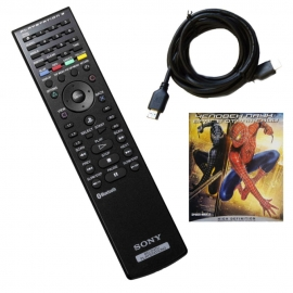 Пульт ДУ Sony Remote + HDMI Cable + Человек-паук: Враг в отражении