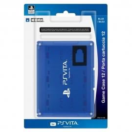 Футляр для карт памяти Hori PS Vita Game Case 12 Blue