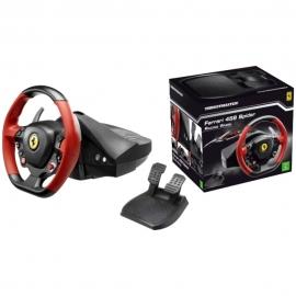 Руль игровой c педалями + Thrustmaster Ferrari 458 Spider Racing Wheel + Forza Horizon 2